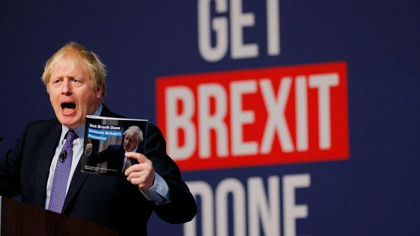 Boris Johnson repeated his campaign mantra on Brexit