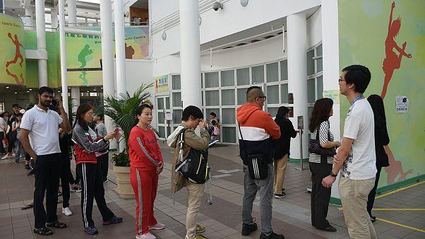 Rekordmagas a részvétel a hongkongi választáson