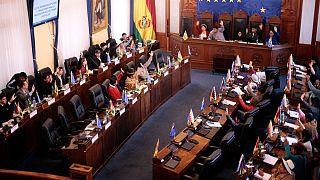 کنگره بولیوی راه را برای برگزاری انتخابات بدون مورالس هموار کرد
