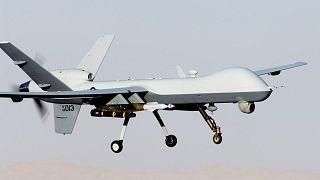 طائرة مسيرة تابعة للقوات الجوية الأميركية