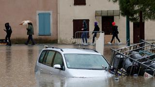 فيضانات عارمة تجتاح جنوب فرنسا. 24/11/2019