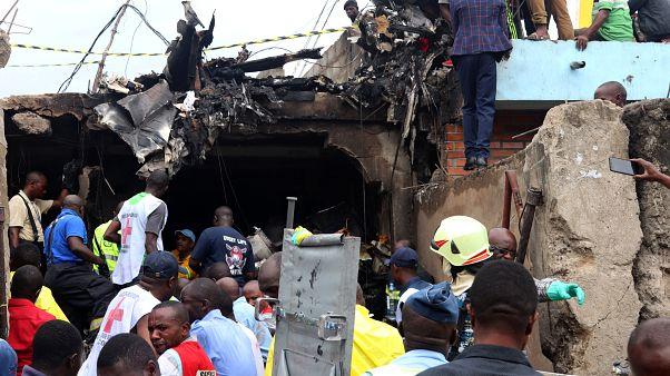 26 قتيلا على الأقل في حادث تحطم طائرة بجمهورية الكونغو الديمقراطية