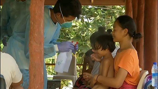 Épidémie mortelle de rougeole dans les îles Samoa