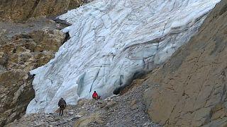 Glaciar monte perdido encolhe um metro por ano