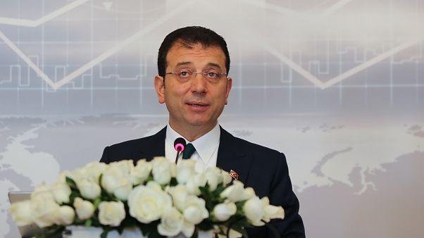 İstanbul Büyükşehir Belediye Başkanı Ekrem İmamoğlu, ( Esra Bilgin - Anadolu Ajansı )