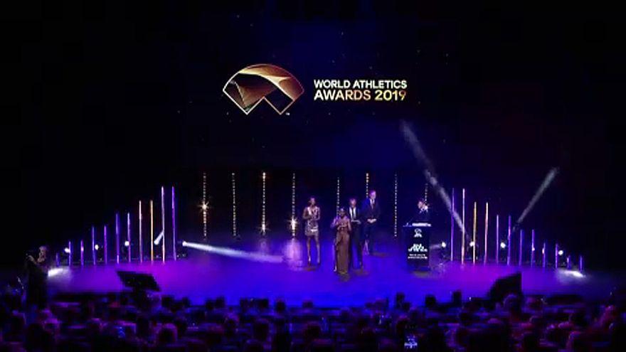 Athlétisme : Eliud Kipchoge et Dalilah Muhammad élus champions de l'année