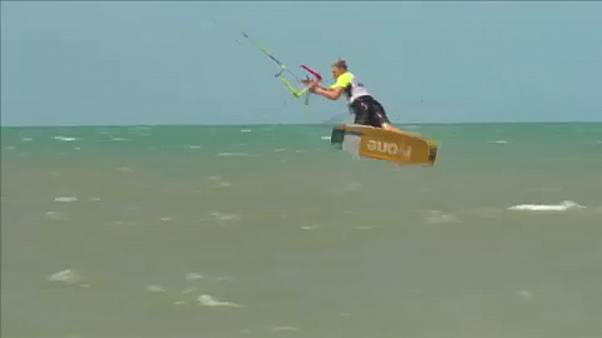 Brazilian Mikaili Sol wins Kiteboarding World Championships