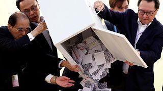 Les électeurs hongkongais du côté des manifestants