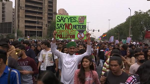 رژه همجنسگرایان هندی با چاشنی حمایت از محیط زیست