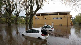 Storms lash southeast France, two dead in flooding
