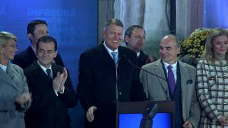 El conservador Iohannis gana las elecciones presidenciales en Rumanía