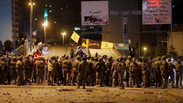 بحران سیاسی لبنان؛ طرفداران حزبالله با معترضان درگیر شدند