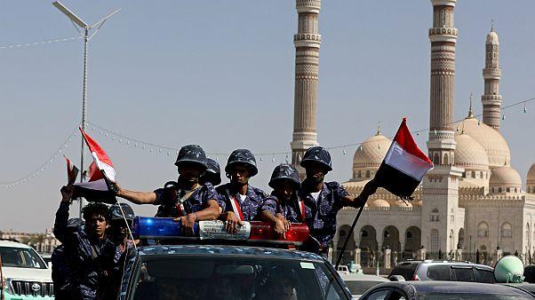شرطة الحوثيين- أرشيف رويترز