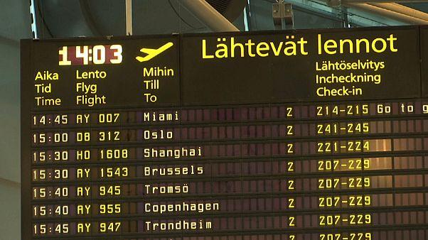 Solidaritätsstreik: Finnair fliegt nur dosiert