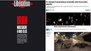 بازتاب اعتراضهای ایران در رسانههای اروپا در هفتهای که گذشت