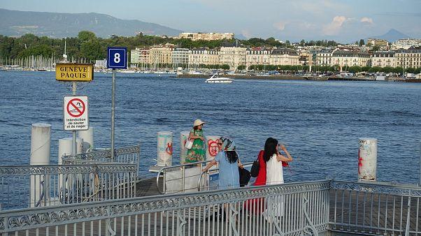 صدها تُن مهمات جنگ جهانی دوم همچنان در بستر «دریاچه لمان» سوئیس قرار دارد
