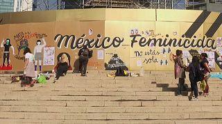 Protestaktion in Mexiko-Stadt: Mit Kunst gegen Gewalt an Frauen