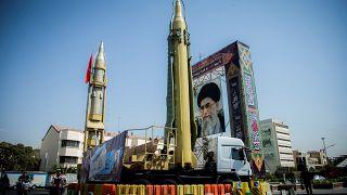 صاروخان معروضان في العاصمة الإيرانية
