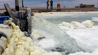 A bolíviai lítium-üzem Llipi-ben