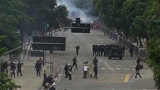 Decenas de heridos en los disturbios de las celebraciones del Flamengo en Río de Janeiro