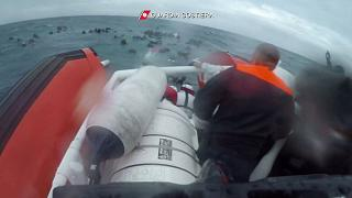 Watch: Shocking footage shows girl rescued by divers off Italian coast