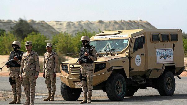 قوات الجيش المصرية- أرشيف رويترز