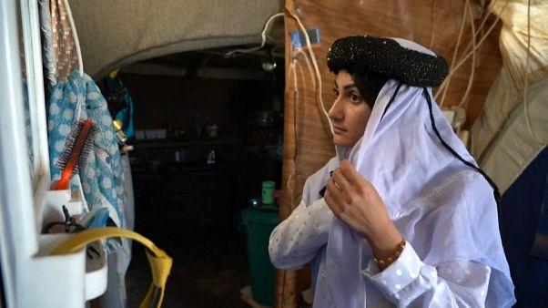 شاهد: إيمان عباس من قبضة تنظيم داعش الى رواية ذاكرة أيزيدية مؤلمة
