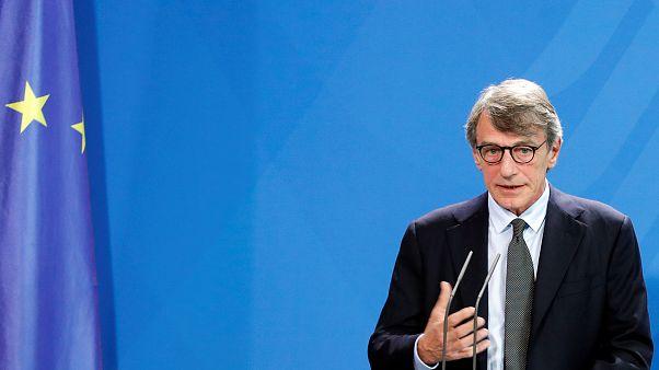 European Parliament President David Sassoli.