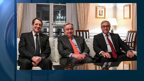 """Guterres (ONU) """"impegnato"""" su Cipro"""