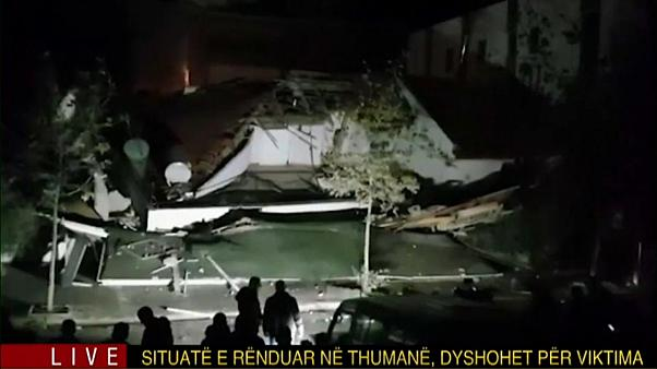 Albanien: Stärkstes Erdbeben seit 30 Jahren