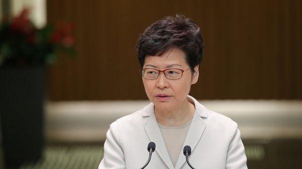 حاكمة هونغ كونغ كاري لام