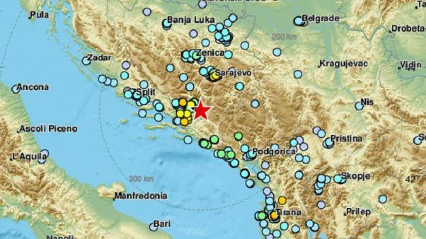 Σεισμός 5,4 Ρίχτερ στο Σαράγεβο