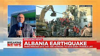 """""""Angst um meine kleinen Töchter"""" - Euronews-Albanien-Chef zum Erdbeben"""