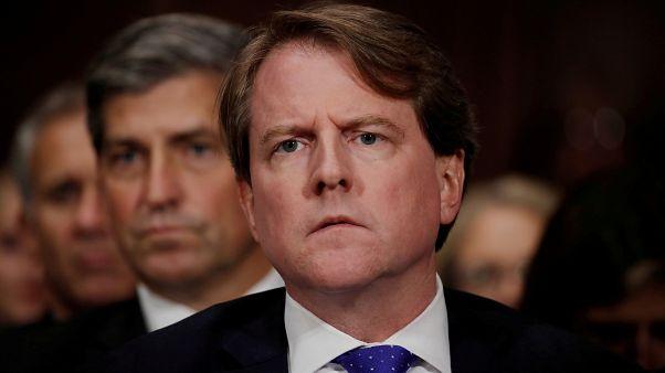 Beyaz Saray'ın eski avukatlarından Don McGahn
