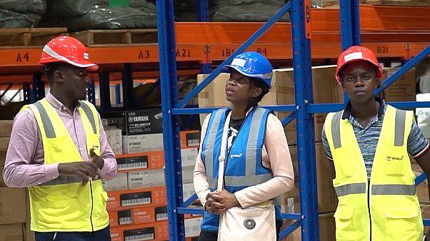 Nova plataforma logística do Ruanda inicia operações