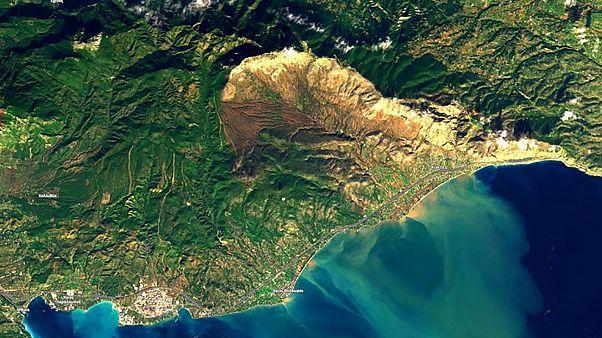 Δορυφόρος φωτογράφισε την Κινέττα μετά τις πλημμύρες του «Γηρυόνη»