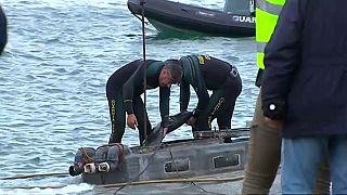 """""""Narco-submarino"""" volta a afundar"""