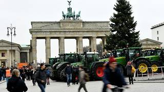 German farmers sow their discontent over agricultural policiies