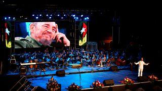 Cuba se rinde a Fidel en el tercer aniversario de su muerte