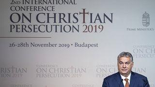 Támadás alatt áll a keresztény kultúra Európában - mondta Orbán