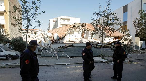 In pictures: Powerful earthquake rocks Albania