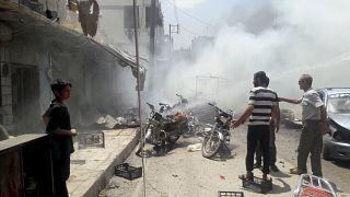 Rasulayn'da bombalı araçla saldırı: 17 ölü, 20'den fazla yaralı