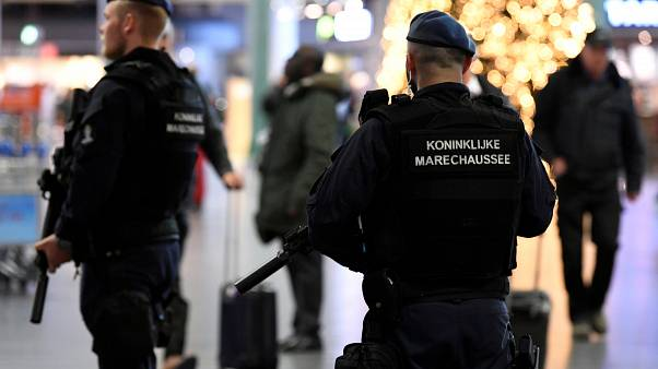 File Photo: Dutch Police in Amsterdam.