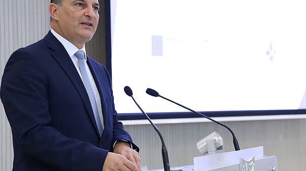 Ο Υπουργός Ενέργειας, Εμπορίου και Βιομηχανίας Γιώργος Λακκοτρύπης