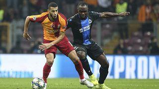 Galatasaray, UEFA Şampiyonlar Ligi A Grubu 5. haftasında Belçika temsilcisi Club Brugge ile karşılaştı