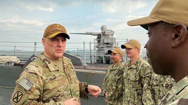 ژنرال برجسته آمریکایی همزمان با اوجگیری خشونتها وارد بغداد شد