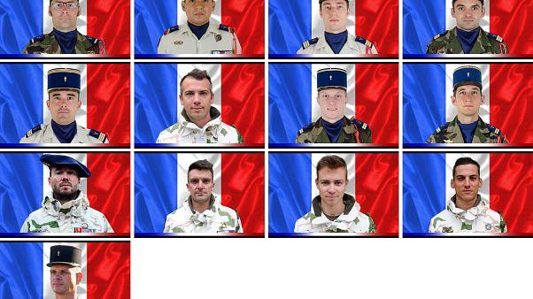 Hommage national aux 13 soldats morts au Mali lundi aux Invalides