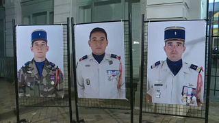 Franciaország a Maliban elesett katonákat gyászolja