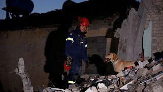 Σεισμός στην Αλβανία: Οι εικόνες της καταστροφής