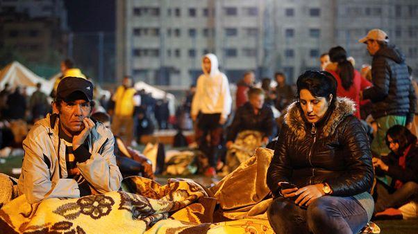 Erdbebenopfer in Durres